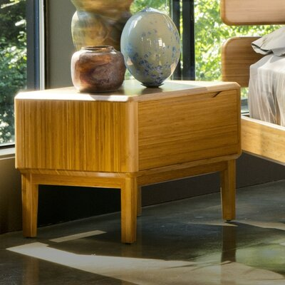 Currant 1 Drawer Nightstand Color: Caramelized