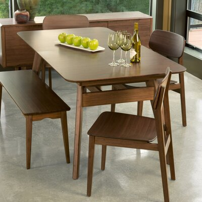 Currant Dining Table Finish Black Walnut