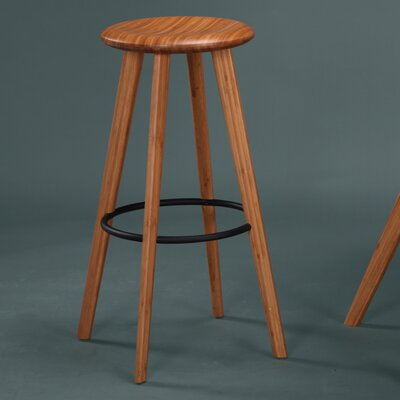 Mimosa 30 inch Bar Stool (Set of 2) Finish: Caramelized