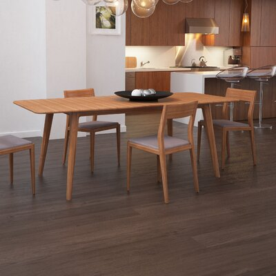 Laurel Extendable Dining Table Table Finish: Caramelized