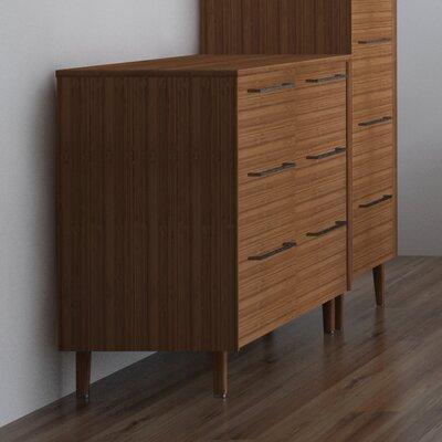 Sienna 6 Drawer Dresser Color: Caramelized