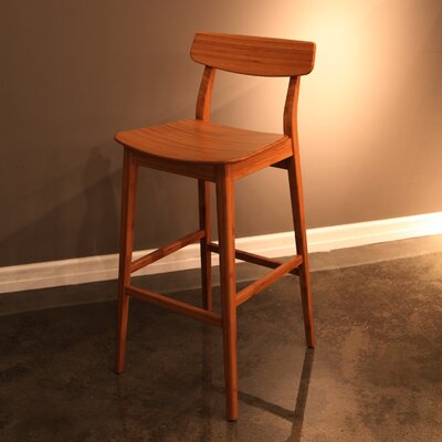 Currant 30 Bar Stool Bar Stool Finish: Caramelized