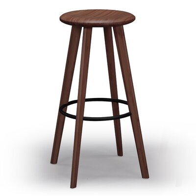 Mimosa 30 Bar Stool Finish: Dark Walnut