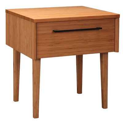 Sienna 1 Drawer Nightstand Finish: Caramelized