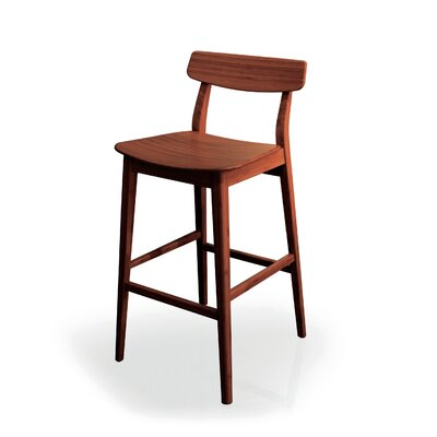 Currant Bar Stool (Set of 2) Finish: Exotic