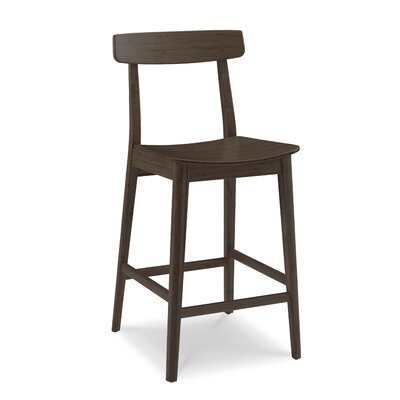 Currant Bar Stool Finish: Black Walnut