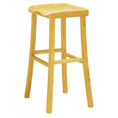 Tulip 30 Bar Height  Stool Finish: Caramelized