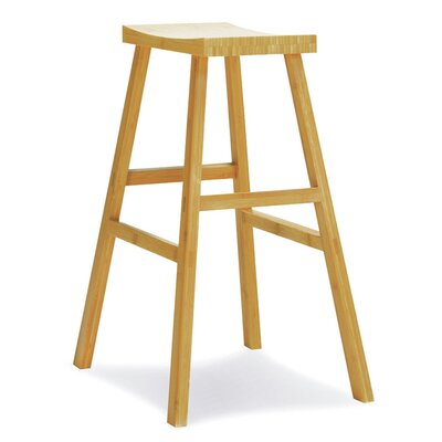 Erica 30 Bar Height Erica Stool Finish: Caramelized