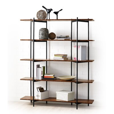 Studio Metal 66 Accent Shelves Bookcase