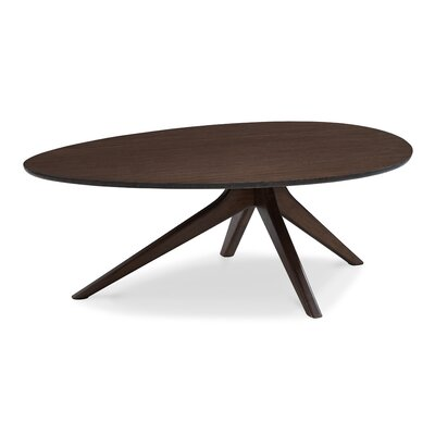 Rosemary Coffee Table Color: Black Walnut