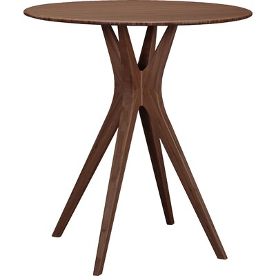 Mimosa Pub Table Color: Black Walnut
