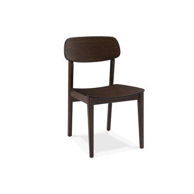 Currant Solid Wood Dining Chair Finish: Black Walnut