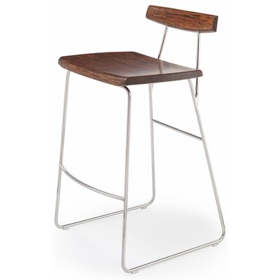 City Lights Paris Bar Stool Height: 26