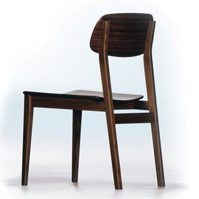 Currant Side Chair (Set of 2) Side Chair Finish: Black Walnut