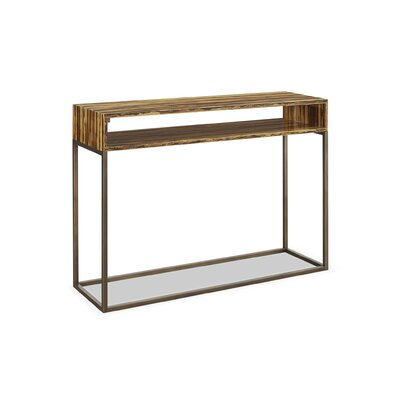 Toronto Tiger Bamboo Console Table