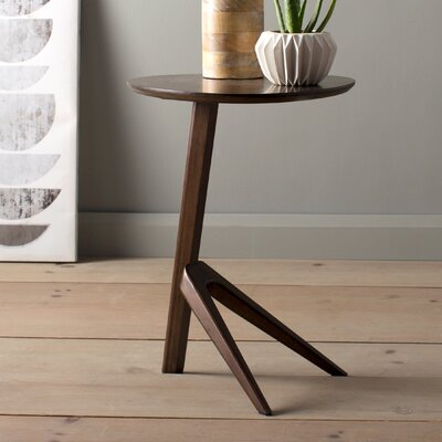 Rosemary End Table Color: Black Walnut