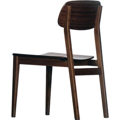 Currant Solid Wood Dining Chair Side Chair Finish: Black Walnut