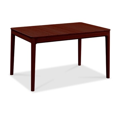 Mija Laurel Extendable Dining Table Color: Sable