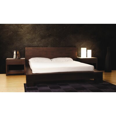 Greenington Orchid Platform Bed, Dark Chocolate