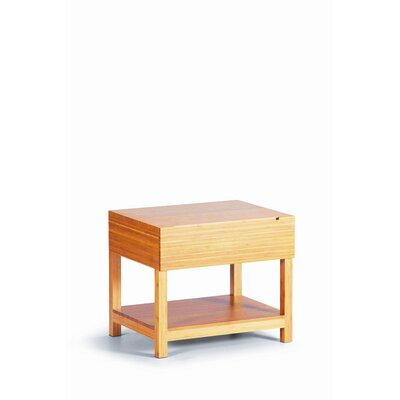 Rent to own Orchid Nightstand Color: Caramelize...