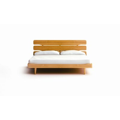 Easy financing Currant Platform Bed Finish: Carame...