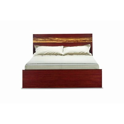 Greenington Magnolia Eastern King Platform Bed, Nutmeg