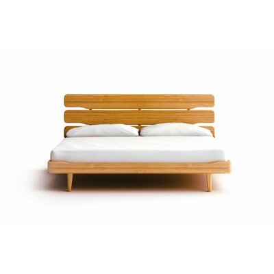 Greenington Currant Queen Platform Bed, Caramelized