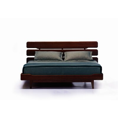 Greenington Currant Queen Platform Bed, Dark Walnut