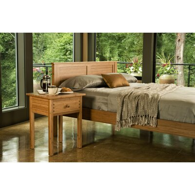 Hosta Platform Bed Size: California King, Color: Natural