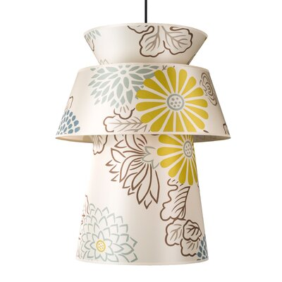 Louie 1-Light Pendant Shade Color: Kimono