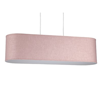 Blip 4-Light Pendant Shade Color: Rose Tweed