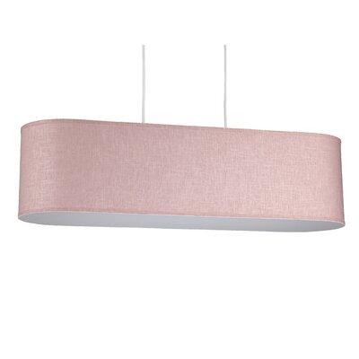 Blip 4-Light Pendant Shade Color: Rose Tweed