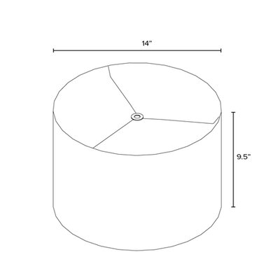 14 Drum Lamp Shade