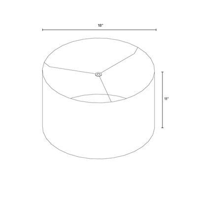 18 Drum Lamp Shade