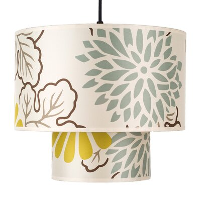 Deco 1-Light Drum Pendant Shade Color: Kimono