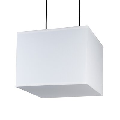Rex 2-Light Pendant Shade Color: Natural Linen
