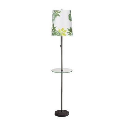 Lights Up! Zoe 1 Light Floor lamp - Shade Color: Black Mumm