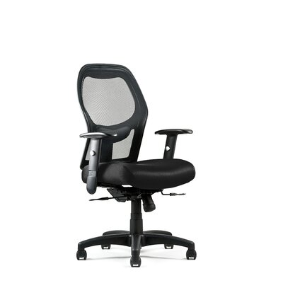Right High Mesh Back Chair Fabric: Spacer - Pewter, Seat: Large Seat, Tilt Mechanism: Multi-Tilt Product Picture 904