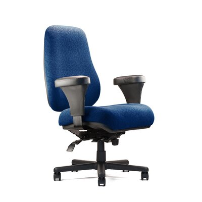 Big Tall Extra Large Back Task Chair Extra Large Seat Minimal Contour Fabric picture