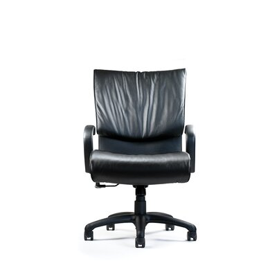 High Back Leather Executive Chair Tilt Mechanism Product Image 2444