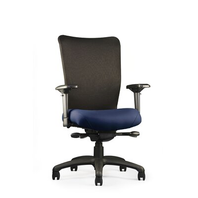 U4ia Mesh Back Chair Seat: Large Seat, Fabric: Spacer - Wine, Arms: 5-Way Adjustable Product Picture 904