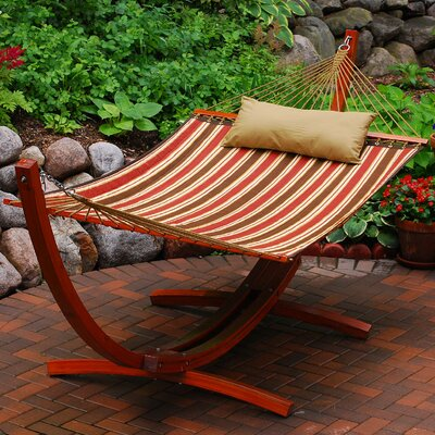 Arc Polyester Hammock with Stand