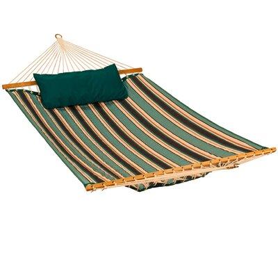 Sunbrella Tree Hammock Color: Token Surfside Stripe/Canvas Teal
