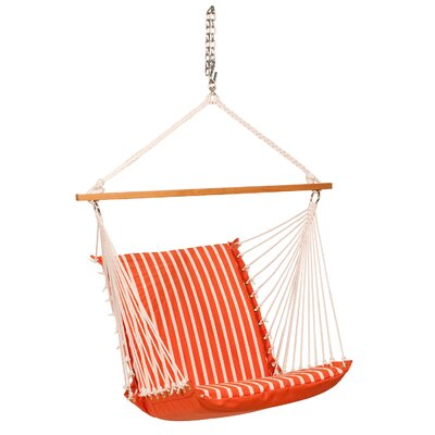 Sunbrella Soft Comfort Chair Hammock Color: Melon