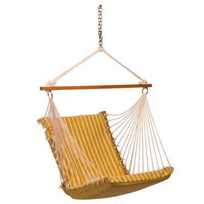 Sunbrella Soft Comfort Chair Hammock Color: Citron