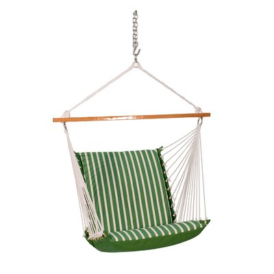 Sunbrella Soft Comfort Chair Hammock Color: Emerald