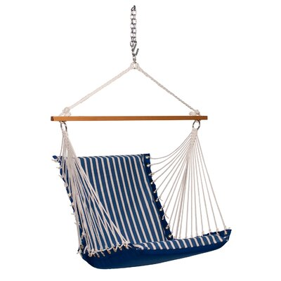 Sunbrella Soft Comfort Chair Hammock Color: Regatta