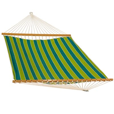 Polyester Tree Hammock Color: Wickenburg Teal, Size: 1 H x 55 W x 132 D