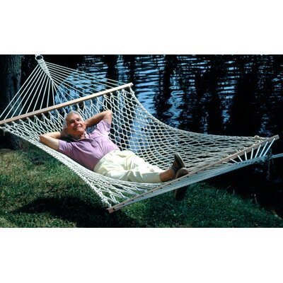 Lawson Deluxe Cotton Rope Tree Hammock Size: Double