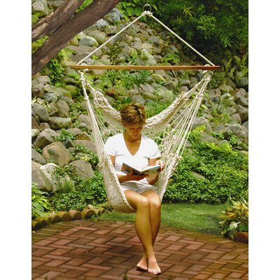 Algoma Net Company Hanging Cotton Rope Hammock Chair at Sears.com